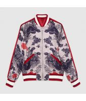 Gucci Lion Print, Men's Bomber Jacket 460820z467e9377