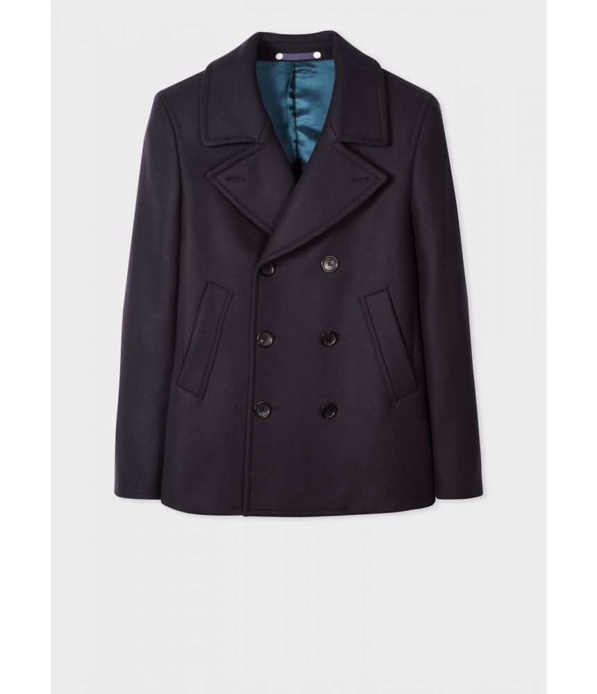 Paul Smith Coat, Wool And Cashmere-Blend, m2r-597t-c20089