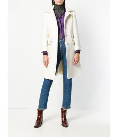 Palton dama Chloe, alb laptos, lana virgina, CHC18AMA01072107