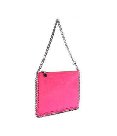 Geanta dama stil clutch, Stella McCartney Falabella Pink, 371369W91325600