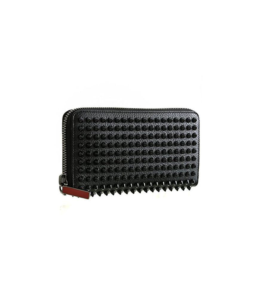 Christian Louboutin Wallet PANETTONE Spike Empire, 1165044CM53