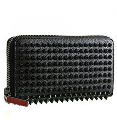Christian Louboutin Wallet PANETTONE Spike Empire, 1165044CM53