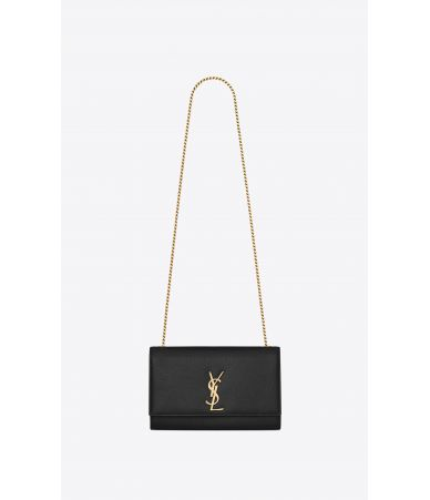 Saint Laurent, Kate Medium Handbag, in grain de poudre, 364021BOW0J1000