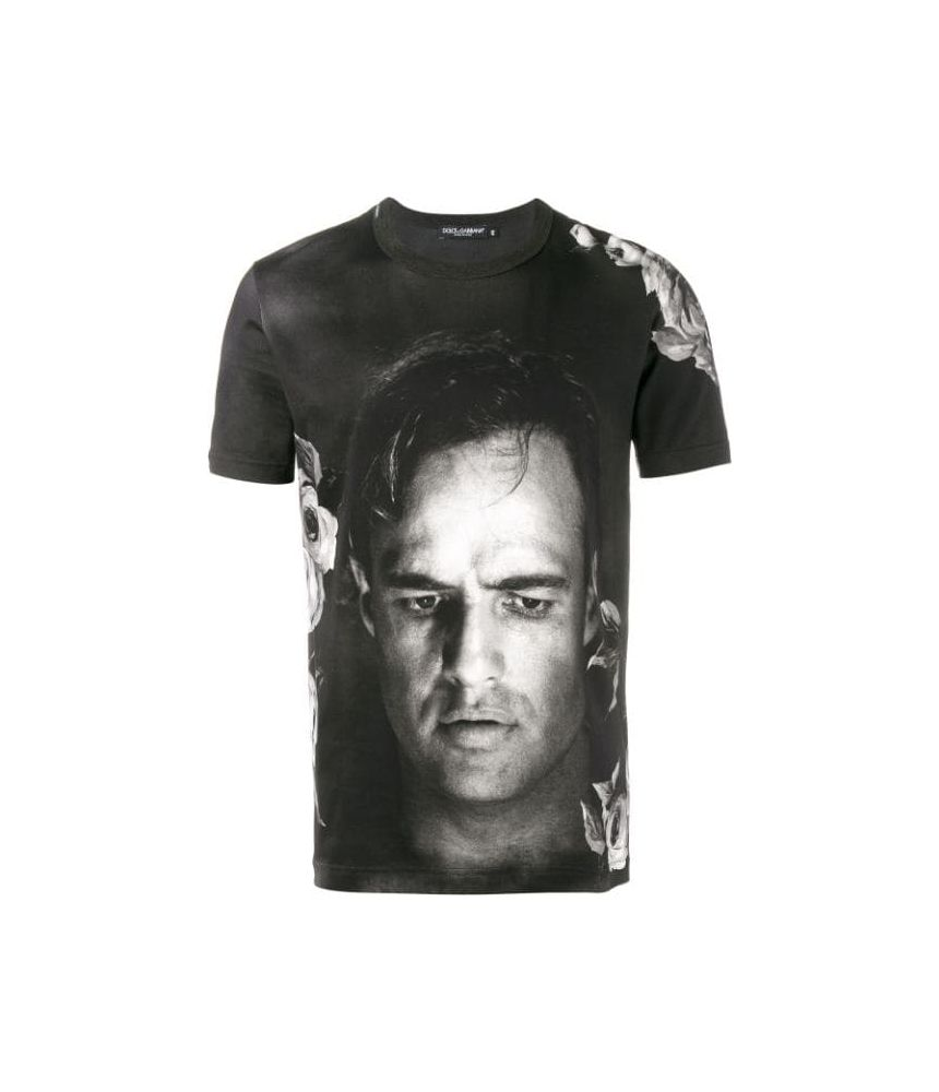 Tricou barbat, Dolce and Gabbana, Marlon Brando Print, G8GX8TFP719