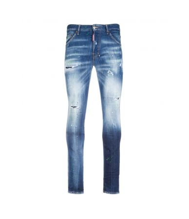 Blugi barbat, Dsquared2, Cool Guy Jeans, slim, s74lb0515 s30342 470