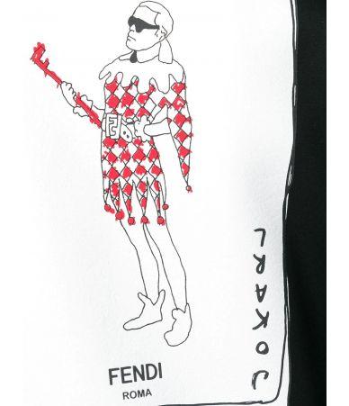 Fendi Jokarl Print, Men's playing card jacket, FW0833A6ZS