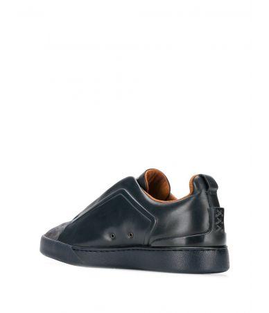 Adidasi barbat, Ermenegildo Zegna, triple stitch sneaker, LHMSOA2511X