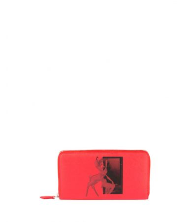 Portofel dama, Givenchy Bambi Print Wallet, ZEF0177