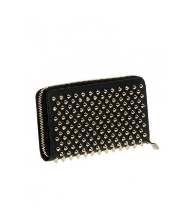 Christian Louboutin Wallet, PANETTONE BLACK/GOLD, 1185059