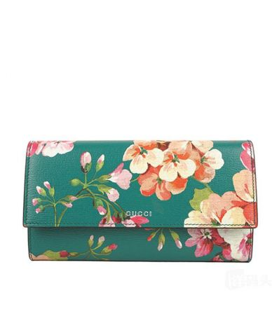 Gucci Wallet, Blooms, 410100