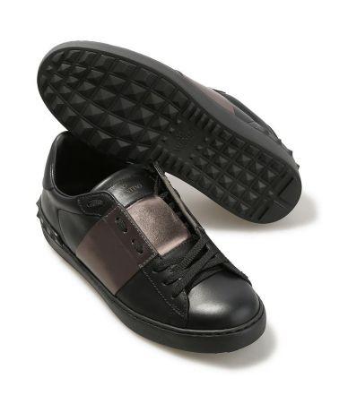 Pantofi sport, adidasi Valentino Open Low Top Sneakers, bronz, MY2S0830TLVN07