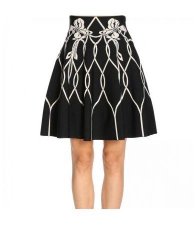 Alexander Mcqueen, Embroidered skirt, 532067