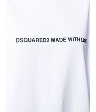 Tricou dama, Dsquared2, Made With Love, S75GD0026 S20694 100