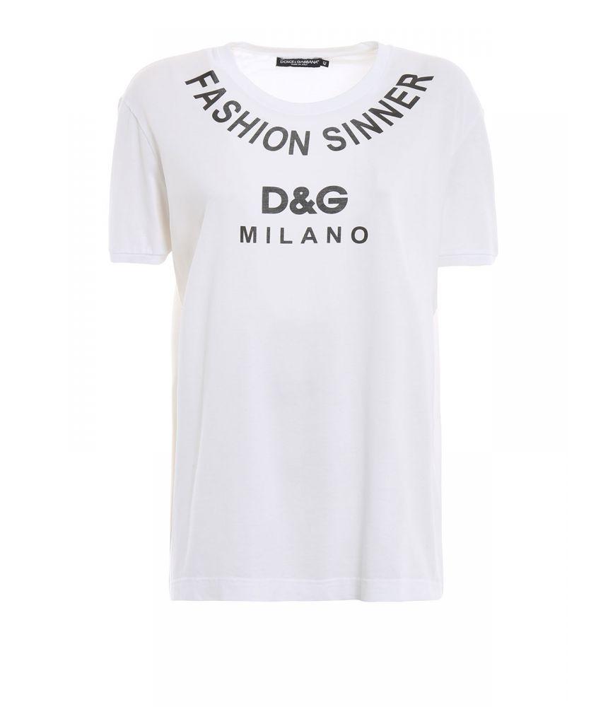 Dolce & Gabbana T-shirt, Fashion Sinner, F8K74T G7QQY W0800