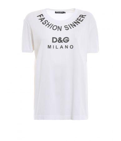 Tricou dama, Dolce & Gabbana, Fashion Sinner, F8K74T G7QQY W0800