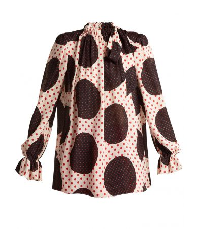 Bluza dama, Valentino, Polka dot, QB2AE2Z142N NC3