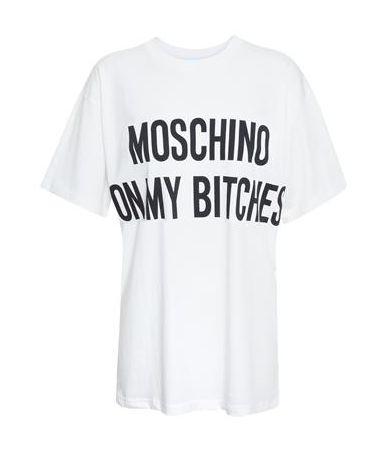 Moschino T-Shirt, On my bitches, 3XT0706