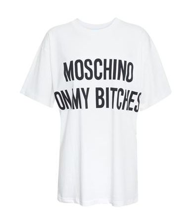 Tricou dama, Moschino, On my bitches, 3XT0706