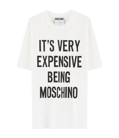 Tricou dama, Moschino, It's very expensive being Moschino, 3XT0705