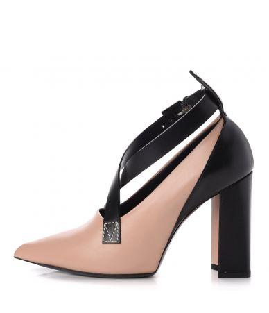 Pantofi cu toc, Louis Vuitton, Calfskin Gamble Diva, BR1126