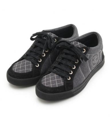 Pantofi sport dama, Chanel, Mark Canvas, G30616