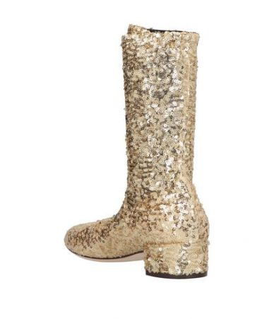 Dolce & Gabbana, Women's Metallic Sequin Ankle Boots, P143385