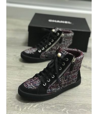 Chanel, Woman Tweed sneaker, G30243