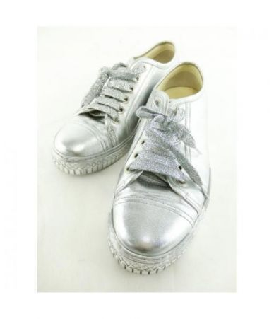 Pantofi sport dama, Chanel, metalici, G33363