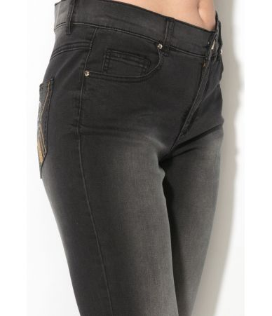 Versace Jeans, Woman Jeans Slim Cockade, EA1HMB0S3
