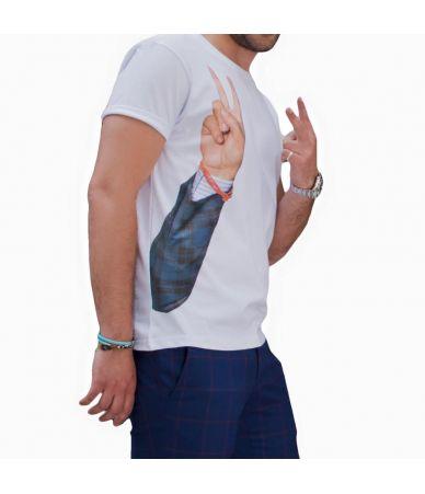 Tricou barbat, Isaia Shirt Gesti, TES01