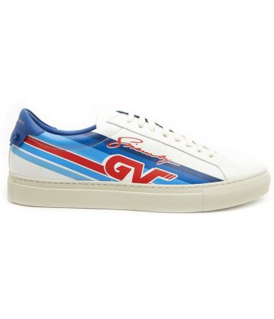 Givenchy , Men GV Motocross print sneakers, DN 0148