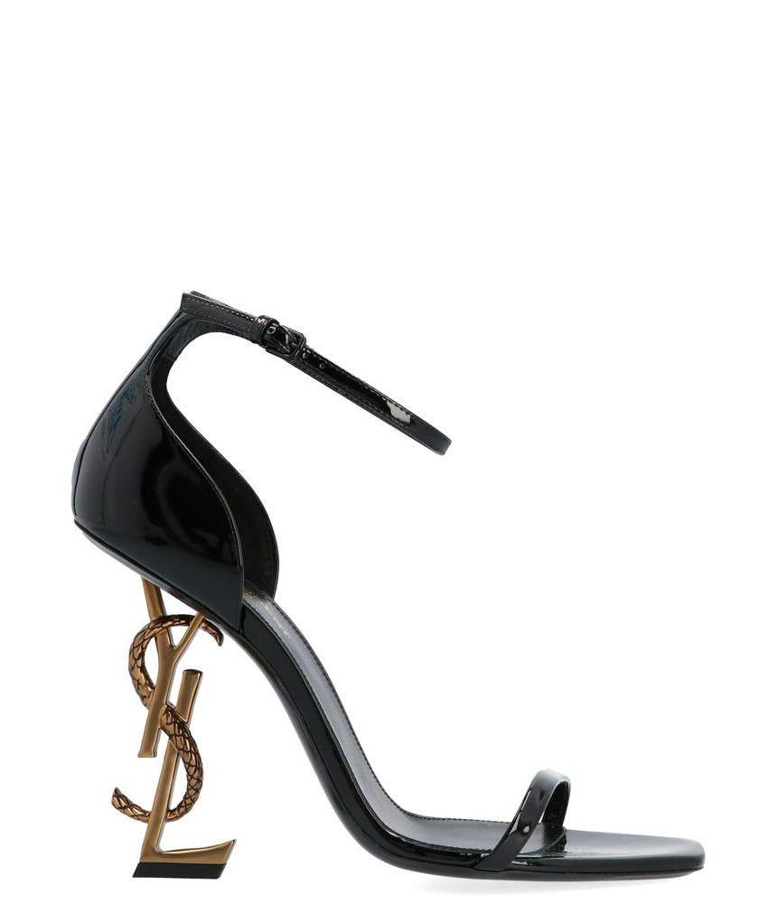 Sandale cu toc, Yves Saint Laurent, Opium Shoes In Black, 5789241GHDD1000