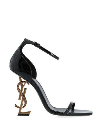 Sandale cu toc, Yves Saint Laurent, Opium Shoes In Black, 5789241GHDD1000