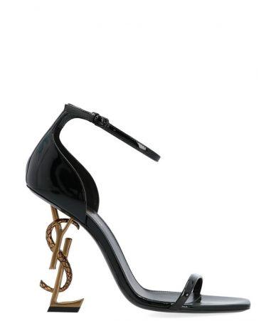 Yves Saint Laurent, Opium Sandals In Black, 5789241GHDD1000