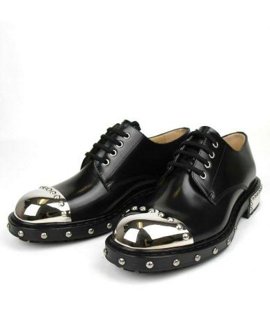 Alexander McQueen Shoes, Hobnail Metal, 476195