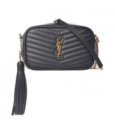 Yves Saint Laurent, Bag Grain De Poudre Matelasse Mini Lou, PLB585040