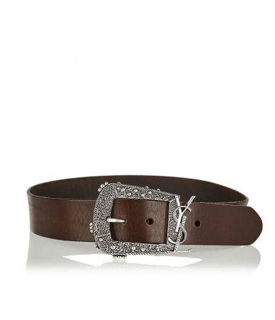 Curea dama, SAINT LAURENT, Cheyenne monogram belt, 5606070H70Y2032
