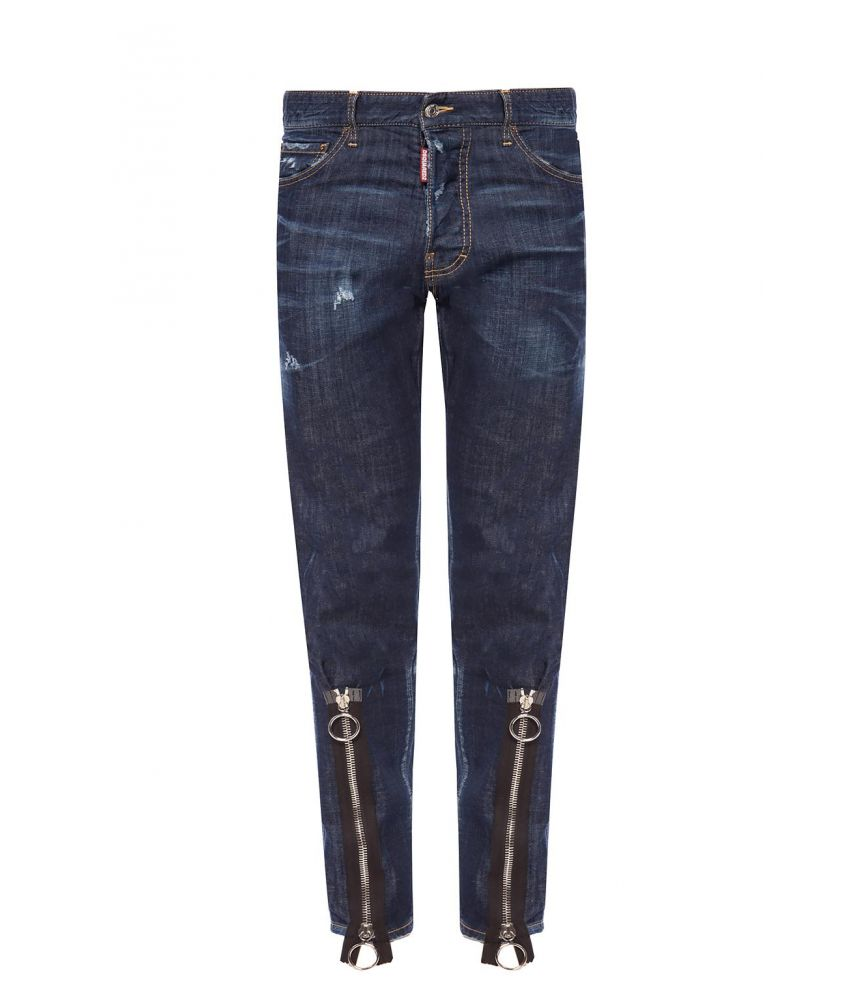 Blugi barbat, Dsquared2, COOL GUY Metal Zippers, S74LB0533