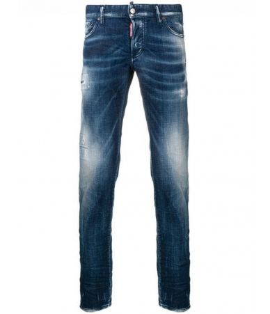 Blugi barbat, Dsquared2, Faded Effect Jeans, S74LB0503