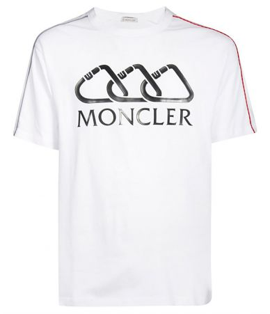 Moncler, Men Logo Tee, 80401