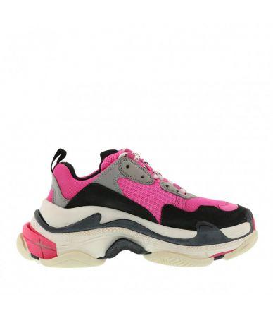 Adidasi dama, Balenciaga, Triple S Pink, 524039