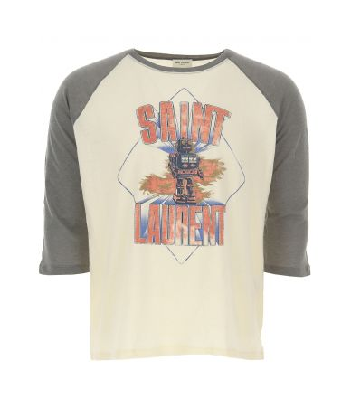 SAINT LAURENT, Men Robot t-shirt, 553376