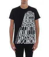 Tricou barbati, Valentino, Tower T-Shirt, RV3MG01AXDH