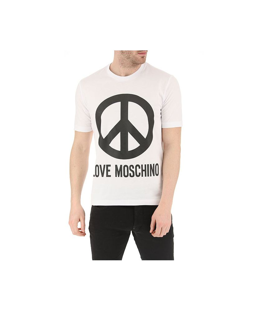 Tricou barbati, Moschino, Peace Sign T-Shirts, M47322S