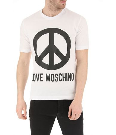 Tricou barbati, Moschino, Peace Sign T-Shirts, M47322S