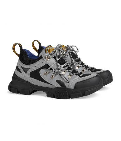 Adidasi Gucci, Flashtrek Reflective Sneakers Grey, 543162-9Y030-8168