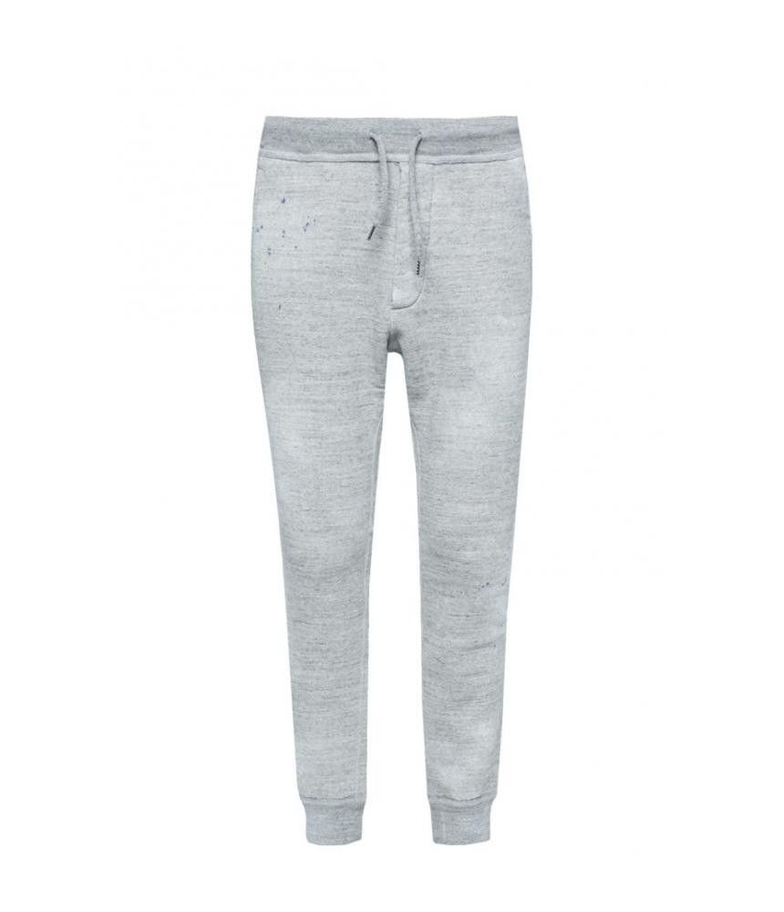 Dsquared2, Drawstring Sport Pants, Gray