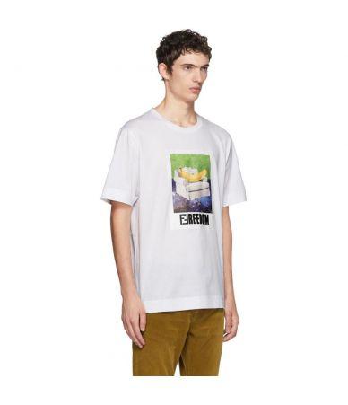 Fendi, Freedom Banana T-Shirt, FY0889