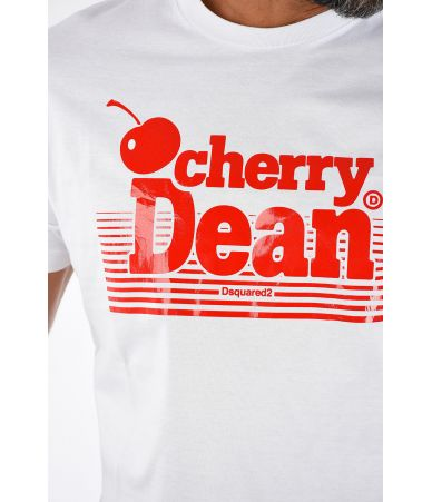 DSQUARED2 T-shirt, CHERRY DEAN White, S74GD0446 100