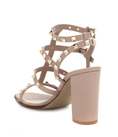 Valentino, Rockstud Leather Sandals, P00396978